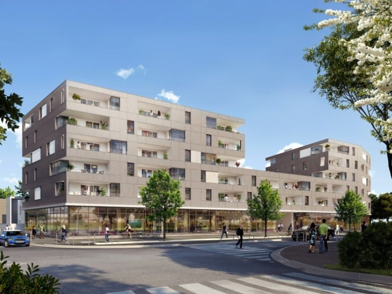 R sidence c r s programme immobilier neuf pinel blagnac for Residence immobilier